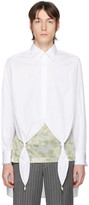 Loewe White Knotted Pearl Shirt
