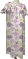 The Peanut Shell Hospital Gown, Dahlia, Large/X-Large