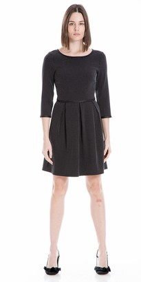 Max Studio Women's 3/4 Sleeve Dress