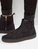 Paul Smith Deller Crepe Sole Chelsea Boots