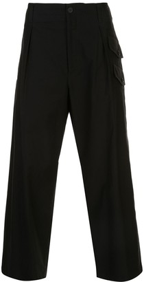 Yohji Yamamoto Side Pockets Loose Trousers