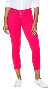 NYDJ Sheri Slim Ankle Jeans in Big Pink