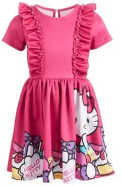 Hello Kitty Toddler Girls Ruffled Dress