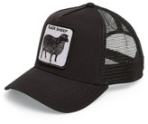Goorin Bros. Men's Brothers 'Animal Farm - Naughty Lamb' Trucker Cap - Black