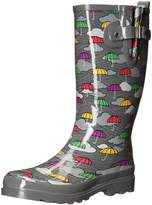 Western Chief Women's Umbrella Clouds Rain Boot