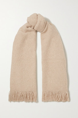 LAUREN MANOOGIAN Alpaca, Wool And Cotton-blend Scarf - Beige