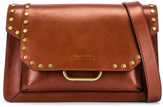 Isabel Marant Maskhia Shoulder Bag in Cognac | FWRD