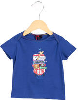 Paul Smith Boys' Short Sleeve Graphic Print Shirt w/ Tags