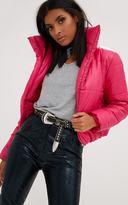 PrettyLittleThing Pink Puffer Jacket
