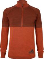 Adidas Sport - Climaheat Primeknit Half-zip Top
