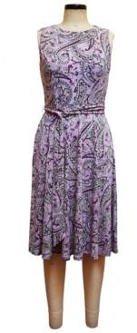 Charter Club Lola Paisley-Print Midi Dress, Created for Macy's