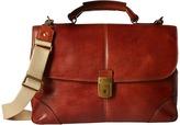 Bosca Dolce Collection - Flapover Brief Briefcase Bags