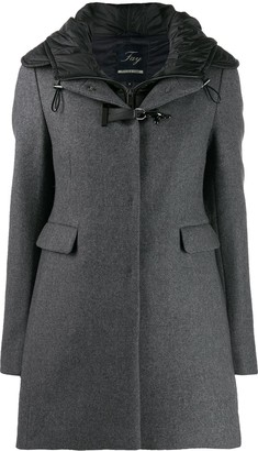 Fay Buckle Detail Coat