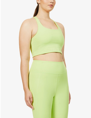 Girlfriend Collective Paloma recycled polyester-blend sports bra