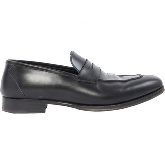 Tom Ford Black Leather Flats