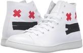 Marc Jacobs Canvas Zip Face High Top Men's Shoes
