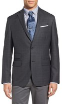 Nordstrom Men's Trim Fit Plaid Wool Sport Coat