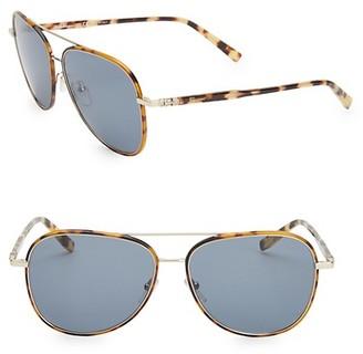Salvatore Ferragamo Classic 60MM Aviator Sunglasses