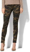 New York & Co. Soho Jeans - High-Waist Pull-On Legging - Camouflage Print