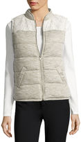 Miss Chievous Puffer Vest-Juniors