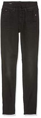 G Star Women's 3301 High Waist Skinny Jeans, Black (dk Aged 89)), W25/L36 (size: 2536)