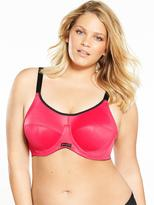 Elomi Energise Underwired Sports Bra - Pomegranate