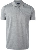 Lanvin stitch detail polo shirt - men - Cotton - M