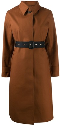 MACKINTOSH belted button up trench coat