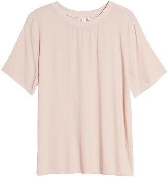 Treasure & Bond Short Sleeve Woven T-Shirt