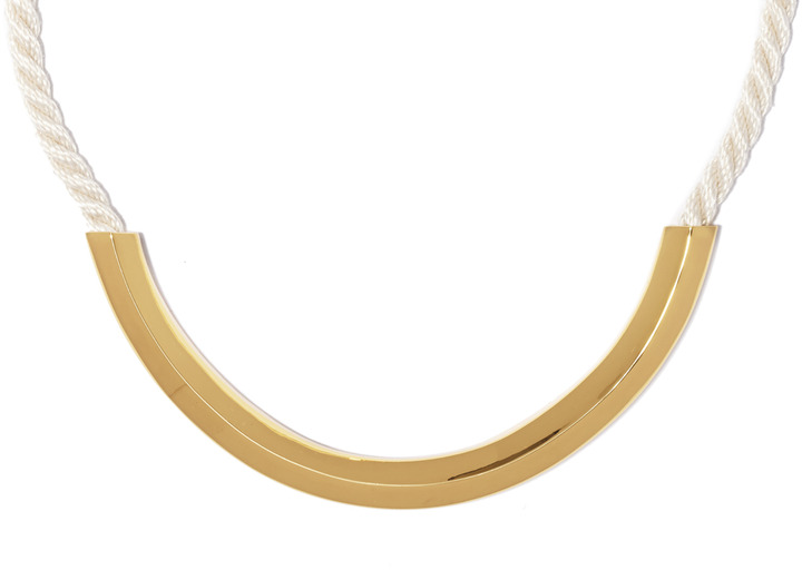Vince Camuto Golden Rope Necklace