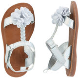 Osh Kosh OshKosh Braided Rosette Sandals