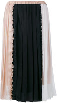 No.21 patchwork skirt
