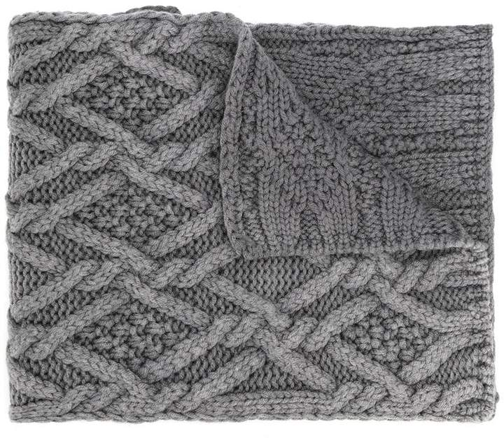 84b347d49 Womens Cable Knit Scarf - ShopStyle Canada