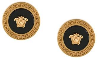Versace Medusa head earrings