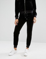 Juicy Couture Bling Velour Jogging Bottom