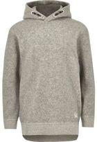 River Island Boys grey hoodie