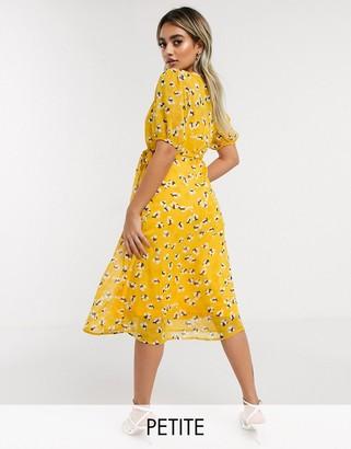 Y.A.S Mella short sleeve wrap dress