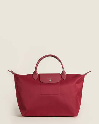 Longchamp Le Pliage Neo Red M Tote