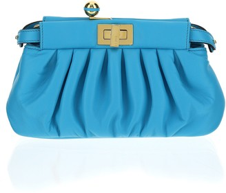 Fendi Peekaboo Click Clutch Bag