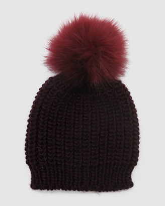 Morgan & Taylor Women's Red Beanies - Arizona Beanie - Size One Size at The Iconic