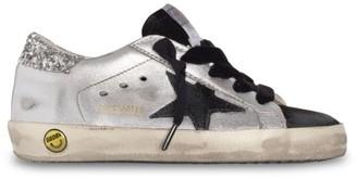 Golden Goose Baby's, Little Girl's & Girl's Leather Metallic Superstar Sneakers