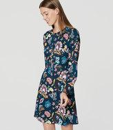 LOFT Petite Garden Shirtdress