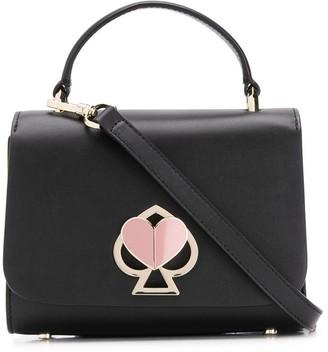 Kate Spade heart lock mini tote bag