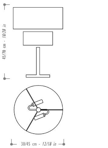 Ai Lati Show - Tamburo Table Lamp