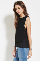 Forever 21 Contemporary Layered Ring-Side Top