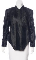 Kimberly Ovitz Textured Asymmetrical Jacket