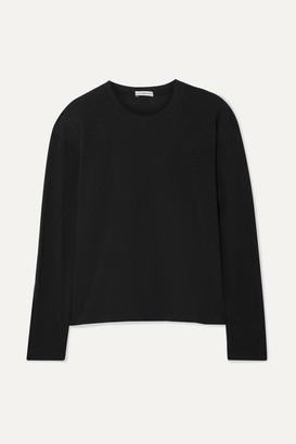 James Perse Vintage Cotton-jersey T-shirt - Black