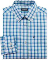 Izod Long Sleeve Woven Dress Shirt - 8-20