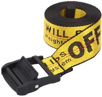Off-White 3.5cm Logo Industrial Nylon Webbing Belt