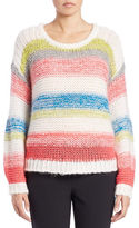 424 Fifth Slouchy Striped Pullover